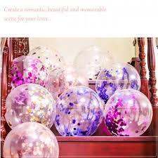 5pcs <b>12inch transparent latex balloons</b> confetti latex balloons ...