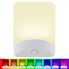 GE Color-Changing LED Night Light, Plug-in, Dusk-to ... - Amazon.com