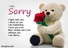 Sorry Sms Messages, Sorry Quotes - Apology Messages