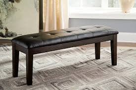 cushioned dining bench