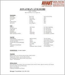 resume format of actors resume writing resume examples cover resume format of actors resume samples in pdf format best example resumes actors resume no