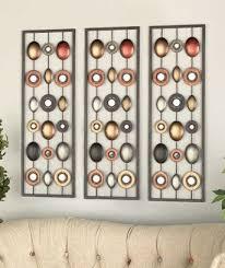 mirror wall decor circle panel: metal wall decor with mirrors ltd commodities http wwwamazoncom