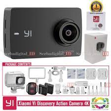 <b>Xiaomi Yi</b> Discovery Kit Action Camera <b>4K</b> Touchscreen Garansi ...