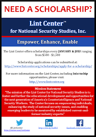 scholarships the lint center for national security studies