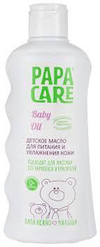 Масло для тела детское Papa Care <b>Для массажа</b>, <b>очищения</b> и ...