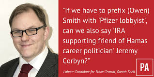 Image result for gareth snell and corbyn + images