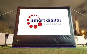 <b>Smart Digital</b> Outdoor Cinema Systems - <b>Portable</b> Cinema Screens