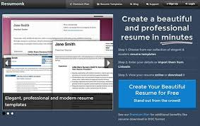 most useful websites for resume building   tech attend  most beneficial websites for resume building resumonk