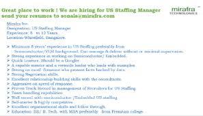 staffing manager   linkedinwe are hiring for us staffing manager