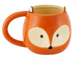 <b>Кружка</b> Fox от <b>Balvi</b> оранжевый, керамика - купить в интернет ...