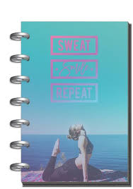 12 Months – UNDATED - <b>Sweat</b>, <b>Smile</b>, <b>Repeat</b> - The Happy Planner
