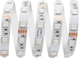 00-75 <b>Лента светодиодная</b> 12В, 14,4Вт/м, smd <b>5050, 60</b> д/м, IP67 ...