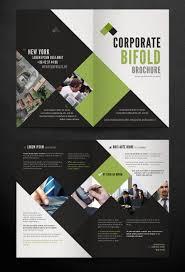 corporate bi fold brochure template by pixeden com