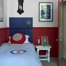 cheap kids bedroom ideas: sophisticated small kids bedroom ideas small boys bedroom in blue and red colour scheme kids bedroom