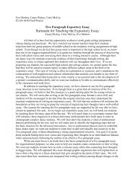 cover letter how to write expository essay examples expository