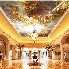 <b>beibehang Custom wallpaper</b> 3d european royal Eden paradise ...