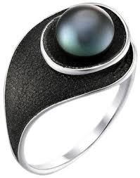 <b>Кольца</b> с черным цветом металла — купить в AllTime.<b>ru</b>, фото и ...