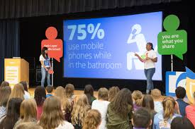 google and representative will hurd host internet safety event for two google employees delivered a 45 minute presentation on tuesday at lopez middle school and covered important topics including thinking before you share