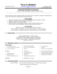 It Support Resume  it support technician resume sample  help desk       happytom co