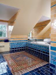 blue bathroom tile ideas: saveemail fdcbedf  w h b p contemporary bathroom