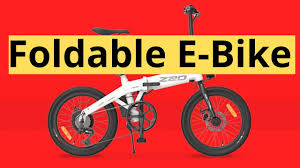 HiMo Z20 Electric Bike is <b>Folding</b> and Only $699 - YouTube