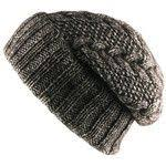 Ladies Chunky Soft Cable Knit hat with Cosy Fleece Liner and ...