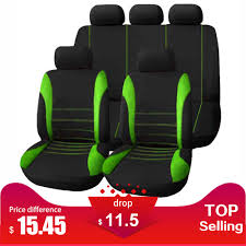 <b>9pcs</b> Universal Car Seat Cover Auto Interior Covers for Four ...