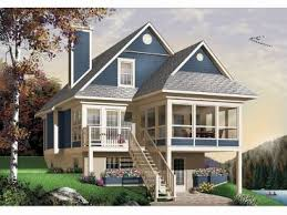 Plan H    Find Unique House Plans  Home Plans and Floor    Sloping Lot House Plan  H