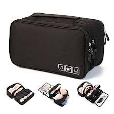 MODARANI <b>Portable Travel Bra Underwear</b> Organizer Lingerie Bag ...