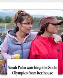 Sarah Palin Watching The Sochi Olympics From Her House | WeKnowMemes via Relatably.com