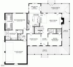 Farm House Open Floor Plan   slyfelinos comOne Story Farmhouse Plans First floor plan of country