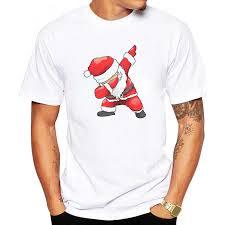 <b>LUSLOS Funny</b> mens t <b>shirt</b> hip hop santa claus print christmas t ...