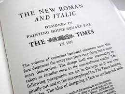 A brief history of <b>Times New Roman</b> | Typography for Lawyers