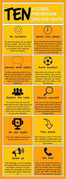 alcohol prevention tips for youth infographic we at hearts are so proud of your decision to stay away from drugs and alcohol we know it is not easy to do alone so remember your parents teachers and