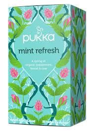 Buy <b>Mint Refresh Organic Herbal</b> Tea - Pukka <b>Herbs</b>
