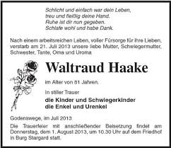 Waltraud Haake | Nordkurier Anzeigen - 006306876101