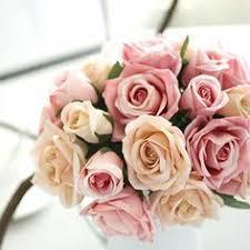 Zonaflor <b>13 Heads</b> Artificial Flowers 1 Peony <b>Bouquet</b> Fall Silk ...