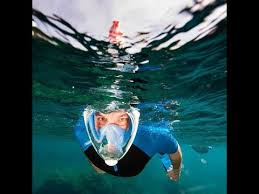 <b>Маска</b> для подводного плавания <b>Free Breath</b> - YouTube