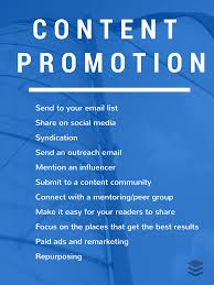 how content promotion works 11 strategies to try there are tons of great strategies to try for getting your content seen by the most people possible this list touches on a few