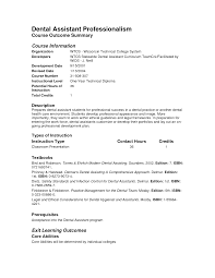 dental assistant resume no experience info dental assistant resume no experience example 5