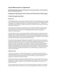 agreement template example xianning agreement template example best photos of memorandum agreement template sample landscape understanding agreement