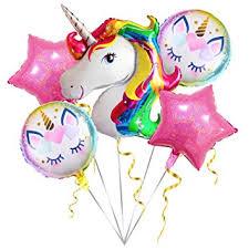 Unicorn Balloons Birthday Party Decorations - Pack Of ... - Amazon.com