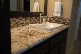tiling ideas bathroom top:  interesting bathroom countertop granite tile picture and ideas