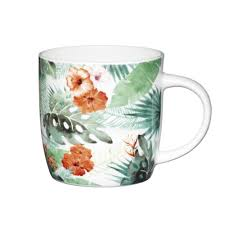 <b>Кружка</b> Kitchen Craft <b>Palm Leaf 425</b> мл KCMBAR132, Чашки ...