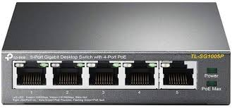 <b>TP</b>-<b>Link</b> 5 Port Gigabit PoE Switch | 4 Port PoE 56W | 802.3af ...