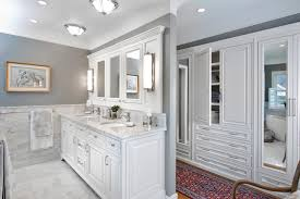 built bathroom vanity design ideas: bathroom double vanity design ideas bathroom traditional with built in drawers gray wall