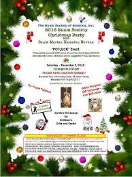 update for 2016 guam society christmas holiday party sat dec 3 the