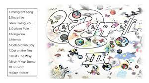 <b>Led Zeppelin III</b> - Led Zeppelin [Full Album 1970] - YouTube