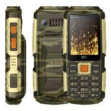 Мобильный <b>телефон BQ 2430</b> Tank Power Сamouflage Gold ...