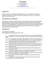 resume opening statement Template Timmins Martelle